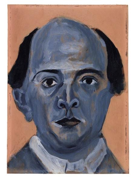 Εικόνα 4: Προσωπογραφία του Schönberg, έργο του ιδίου.